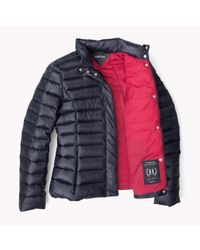 Tommy Hilfiger | Blue Down Jacket | Lyst