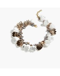 J.Crew White Garden Party Necklace