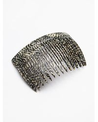 Free People - Gray Medusas Heirlooms Womens French Comb - Lyst