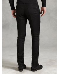 John Varvatos - Black Motor City Jean for Men - Lyst
