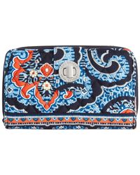 Vera Bradley | Multicolor Turn Lock Wallet | Lyst