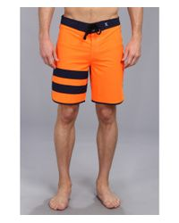 Hurley Orange Phantom 60 Block Party Boardshort for men