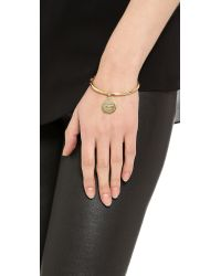 kate spade new york - Metallic Partners in Crime Bangle Bracelet Gold - Lyst