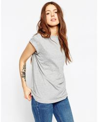 ASOS - Gray The Ultimate Easy T-shirt - Lyst