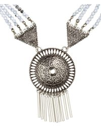H&M - Metallic Long Necklace - Lyst