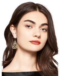 kate spade new york - Metallic Subtle Sparkle Statement Earrings - Lyst