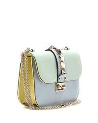 Valentino Garavani Multicolor Glam Lock Small Leather Shoulder Bag