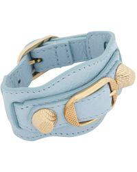 Balenciaga | Blue Giant Arena Bracelet | Lyst