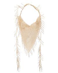 Isabel Marant - Metallic Linares Long Necklace - Lyst
