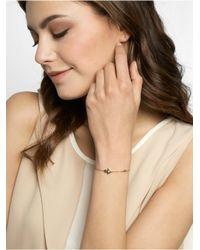 BaubleBar Metallic Crystal Hamsa Bracelet