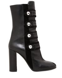 Isabel Marant Black 100mm Arnie Suede & Leather Boots