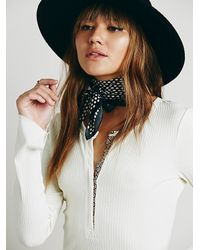 Free People | Natural Intimately Womens Hey Babe Henley | Lyst