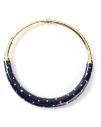 Aurelie Bidermann Blue 'rive Gauche' Necklace