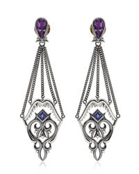 Stephen Webster | Metallic Filigree Shark Jaw Earrings | Lyst