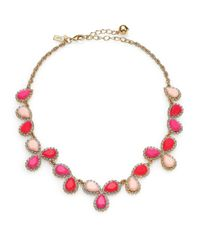 kate spade new york | Pink Balloon Bouquet Cluster Necklace | Lyst