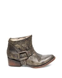 Freebird by Steven Black Phlow Distressed Leather Ankle Boot