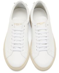 Givenchy - White Codification Low-top Sneakers for Men - Lyst
