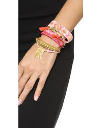 Hipanema | Happiness Bracelet Pink Multi | Lyst