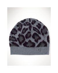 Ralph Lauren | Animal Leopard Beanie | Lyst