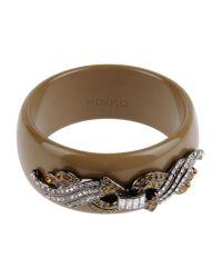 Pinko - Brown Bracelet - Lyst