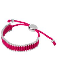 Links of London | Metallic Sterling Silver Adjustable Friendship Bracelet | Lyst
