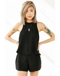 BDG | Black Kuta Tank Top | Lyst