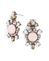 BaubleBar | Pink 'angelic' Drop Earrings | Lyst