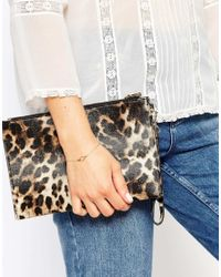 ASOS | Metallic Limited Edition Open Shapes Bracelet | Lyst
