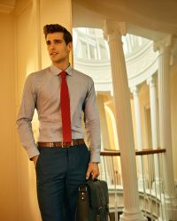 Ted Baker - Red Knitted Tie for Men - Lyst