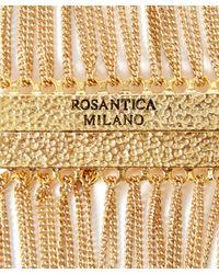 Rosantica | Metallic Red Raissa Agate Bead Necklace | Lyst