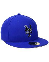 KTZ - Blue New York Mets C-dub 2.0 59fifty Cap for Men - Lyst