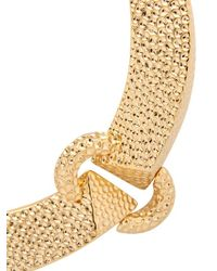 Giuseppe Zanotti | Metallic Gold Plated Necklace | Lyst