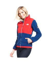 The North Face - Blue USA Village Wear Sochi Denali Fleece - Lyst