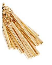 Eddie Borgo | Metallic Tinsel Drop Earrings | Lyst