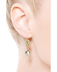 Renee Lewis - Yellow One Of A Kind Chrysoberyl Earrings - Lyst