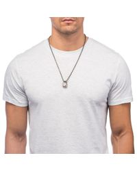 Lulu Frost | White George Frost Tri-nation Necklace for Men | Lyst