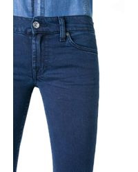 7 For All Mankind - Blue The Skinny Silk Touch Ventura Dark - Lyst