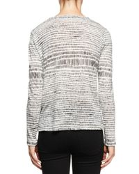 Proenza Schouler - White Long-sleeve Multi-striped T-shirt - Lyst
