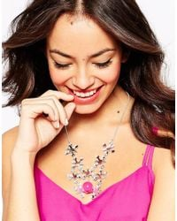 Tatty Devine | Pink Jacks Necklace | Lyst