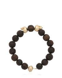 Luis Morais | Black Large Skull Bracelet | Lyst