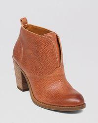 Lucky Brand Brown Booties - Ehllen High Heel