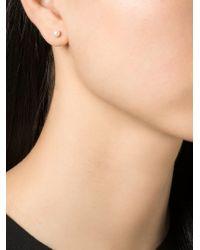 Wouters & Hendrix | Metallic Pearl Stud Earrings | Lyst