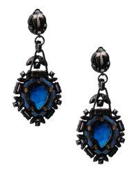 Lanvin Blue Earrings
