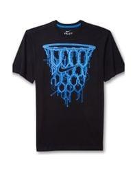 Nike | Blue Basketball Net Graphic Tshirt for Men | Lyst