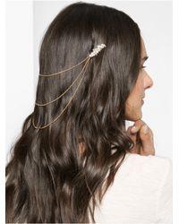 BaubleBar - Metallic Esmã© Hair Chain - Lyst