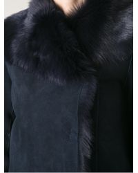 JOSEPH Blue 'Anais' Coat