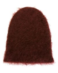 Marni - Red Pointed Beanie - Lyst