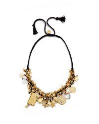 Venessa Arizaga - Stargazer Necklace - Midnight Blue - Lyst