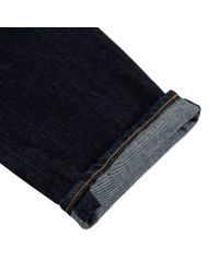 Paul Smith - Blue Men's Classic-fit One-wash Indigo Jeans for Men - Lyst