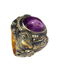 Queensbee - Purple Horse Year Ring - Lyst